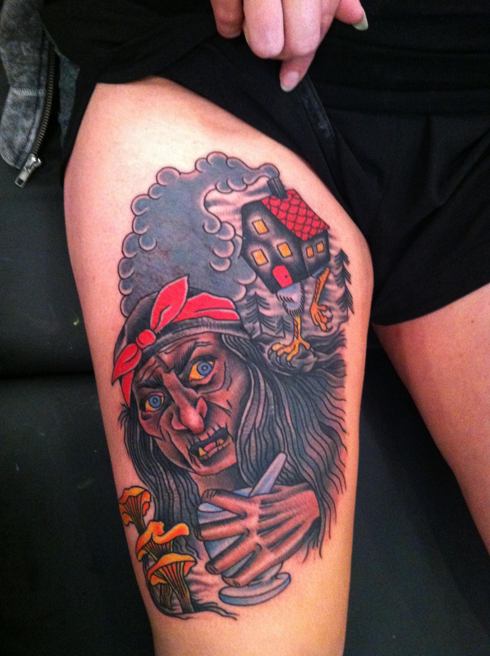 Baba yaga tattoo — 2